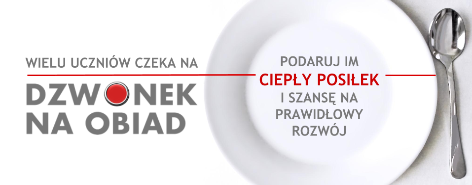 Dzwonek na obiad - Button na www_POZIOM